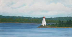 Melinda MacDonald: Baddeck Lighthouse