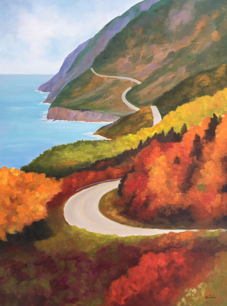 Melinda By the Sea: Cabot Trail