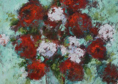 Sunday Bouquet 16x16