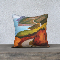 Cabot Trail Pillow