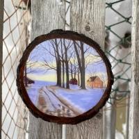 Alex Francis Homestead Coaster