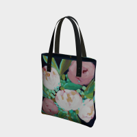 In The Navy Tote Bag