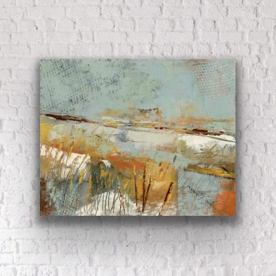 Cold Wax and Oil Paintings