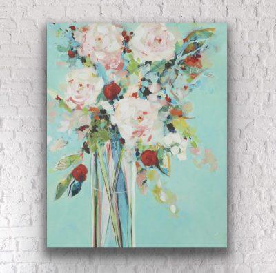 Acrylic & Mixed Media Florals